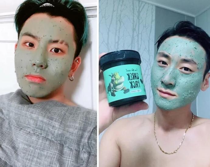 топовая корейская маска для лица