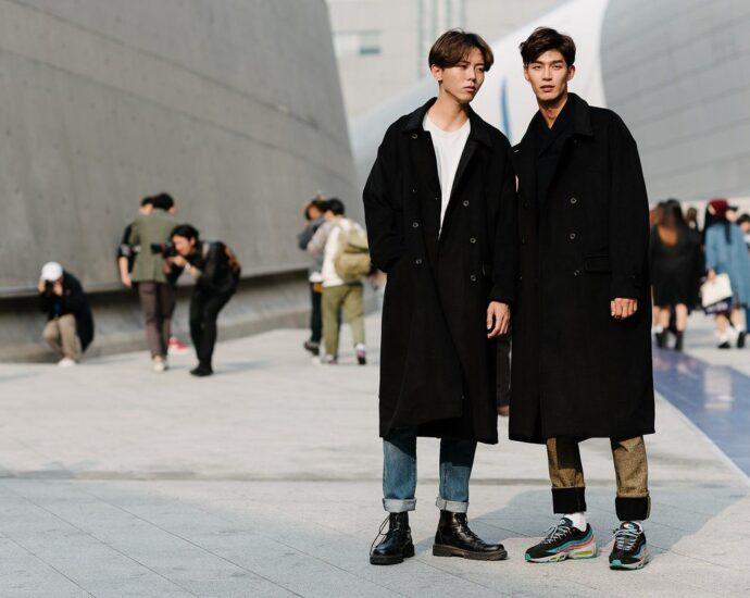 Мужчины в Корее